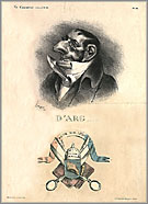 """D'Arg"" by Honor� Daumier"