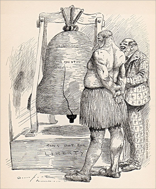 Mark, wouldn't it be great for the Standard Oil dinner bell ! by Homer Davenport